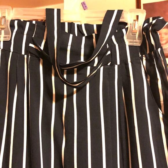 Bag Pants Striped